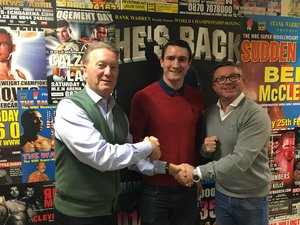 Langford Signs Promotional Deal With Warren