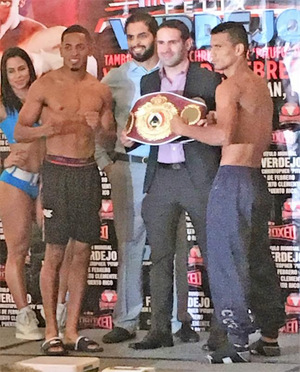 Flores Plans Huge Upset In San Juan