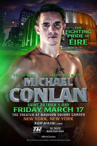 Michael Conlon scorches Eighth Avenue in pro debut