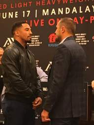 The roundup: Sergey Kovalev and Andre Ward meet the press