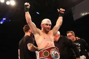 Khurtsidze's Trainer Says He Will 'Beat Down' Saunders
