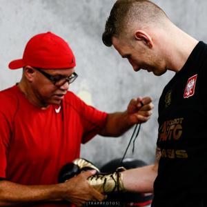 Fonfara Back Training With Virgil Hunter