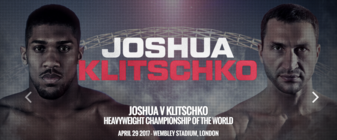 Joshua takes on Klitschko: Young stud vs. Dr. Steelhammer