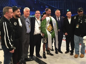 Andrade Claims WBA Crown In Germany