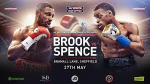 Brook And Spence Eager For Sheffield Clash