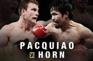 Pacquiao vs. Horn July 2