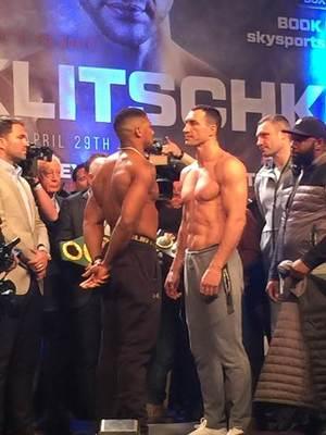 Joshua stops Klitschko at Wembley