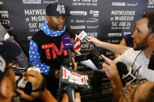 Video: Mayweather Discusses McGregor Fight
