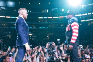 Mayweather And McGregor, Face To Face At Last