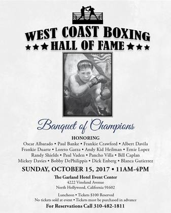 West Coast Boxing Hall of Fame