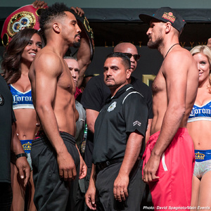 Ward And Kovalev Weigh In For Rematch