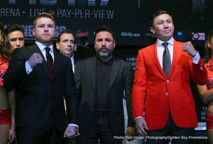 Canelo Squarely Focused On Golovkin