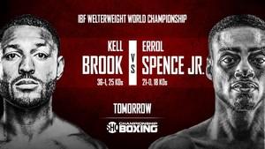 Kell Brook vs Errol Spence Jnr - Live