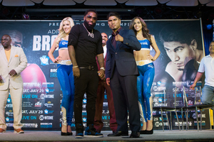 Broner And Garcia Media Tour Lands In LA