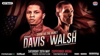 Gervonta Davis halts Liam Walsh in three rounds