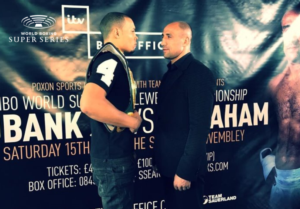 Eubank Jr And Abraham Make Weight