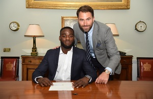 Buatsi Signs Promotional Deal With Matchroom