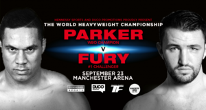 Parker Vs Fury Undercard Announced