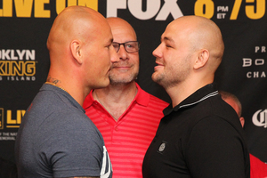 Szpilka And Kownacki Square Off At Presser