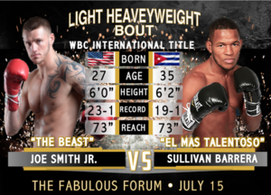 Smith Jr Defends title Against Barrera