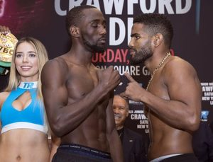 Crawford And Diaz Make Weight In New York