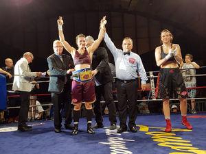 Derieuw Dominates Montanari To Secure Title Win