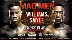 Williams And Smyle Rematch On July 8