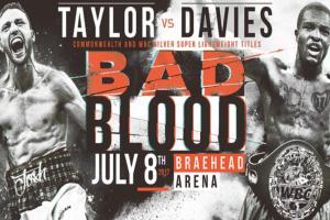 Taylor destroys Davies in Glasgow