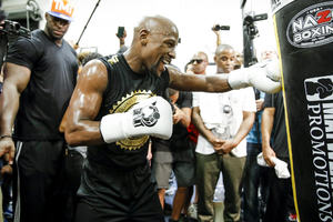 Mayweather's Final Act - Just Eight Days Away