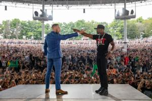 Tension Between Mayweather And McGregor Escalate In Toronto