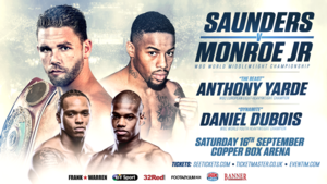 Munroe Jr To Challenge Saunders For WBO  Crown