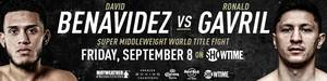 Benavidez vs Gavril - Training Camp notes for Friday's WBC Super Middleweight Title Clash