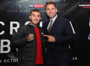 Eggington To Defend European Title Against Mimoune