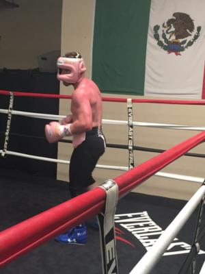 Canelo Opens Training Camp In Preparation For Golovkin