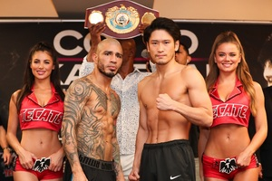 Cotto And Kamegai Weigh In