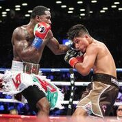 Adrien Broner And Jessie Vargas Battle At Barclays Center In Brooklyn