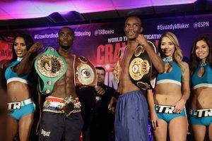 Indongo And Crawford Weigh In