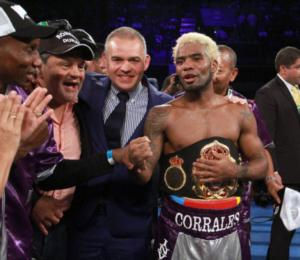 Corrales Retains WBA Crown Against Castellanos