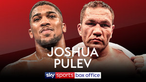 Anthony Joshua vs Kubrat Pulev announced for October 28th