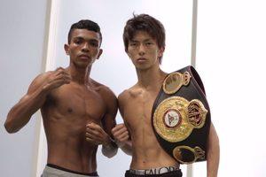 Taguchi and Barrera make weight