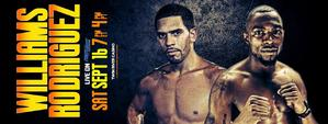 Rodriguez Jr. now faces WBC champ Williams Sept. 16th