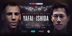 YAFAI DEFENDS WBA BELT AGAINST ISHIDA IN CARDIFF ON OCTOBER 28th