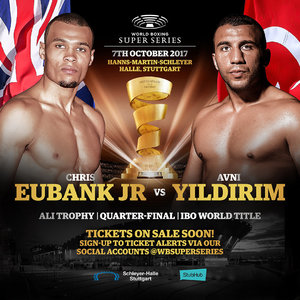 Eubank Jr vs Yildirim Set For October 7 In Stuttgart