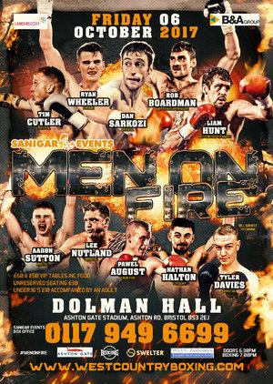 'Men Of Fire' Battle In Bristol