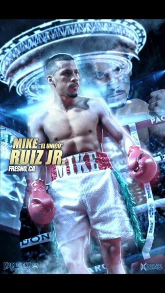 Michael Ruiz Jr: Always fighting back