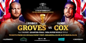 Groves Drills Cox In 4 To Set Up Eubank Jnr Semi-Final