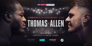 Lenroy Thomas-Dave Allen Commonwealth Heavyweight Re-Match confirmed for Joshua/Pulev October 28th