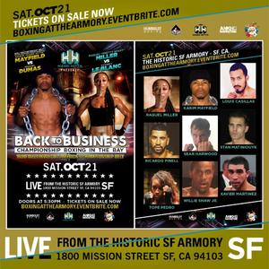 Pro Boxing Returns To San Francisco