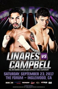Linares takes on Campbell