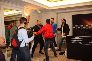 Chaos Erupts At Eubank And Yildirim's Final Press Conference In Stuttgart